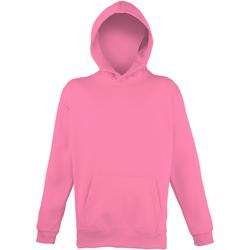 Kleidung Kinder Sweatshirts Awdis JH04J Leuchtpink