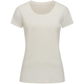 Kleidung Damen T-Shirts Stedman Stars  Winterweiß