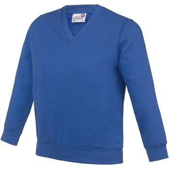 Kleidung Kinder Sweatshirts Awdis  Royalblau