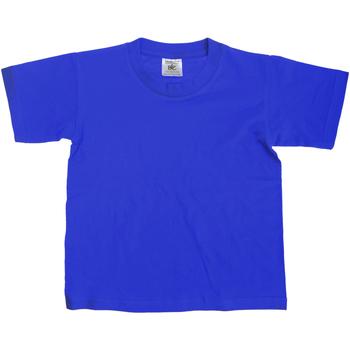 Kleidung Kinder T-Shirts B And C Exact Königsblau