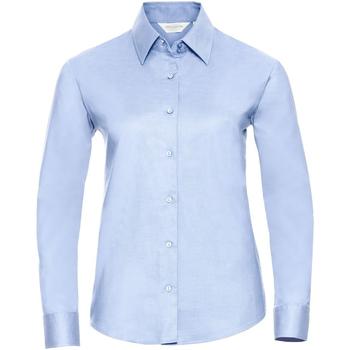 Kleidung Damen Hemden Russell 932F Hellblau