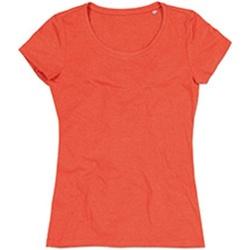 Kleidung Damen T-Shirts Stedman Stars Lisa Kürbisorange meliert
