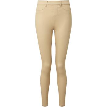 Kleidung Damen Leggings Asquith & Fox AQ062 Natur