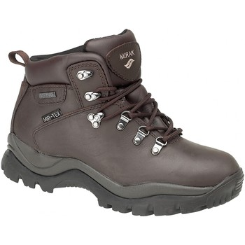 Schuhe Herren Wanderschuhe Mirak Nebraska Mens Hiker Braun