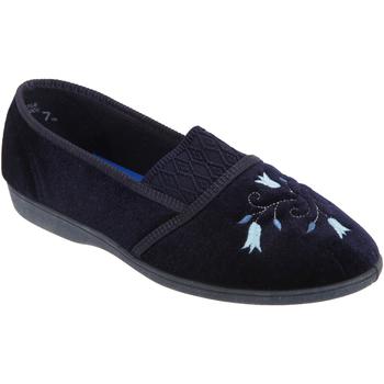 Schuhe Damen Hausschuhe Sleepers Inez Marineblau