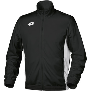 Kleidung Kinder Trainingsjacken Lotto Delta Schwarz/Weiß