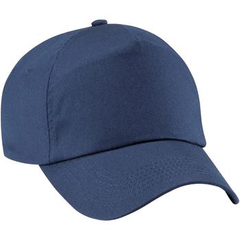 Accessoires Mädchen Schirmmütze Beechfield B10B Marineblau