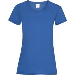 Kleidung Damen T-Shirts Universal Textiles 61372 Kobalt