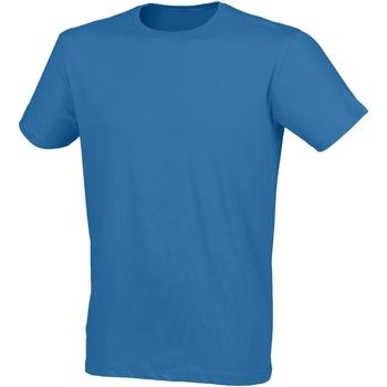 Kleidung Herren T-Shirts Skinni Fit SF121 Surfblau
