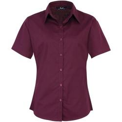 Kleidung Damen Hemden Premier PR302 Aubergine