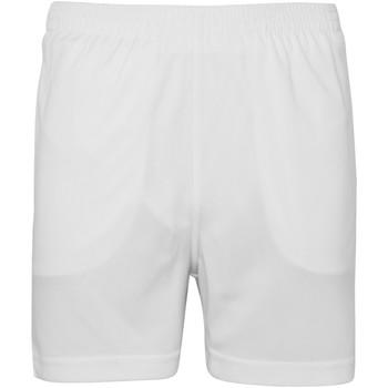 Kleidung Kinder Shorts / Bermudas Awdis JC80J Schneeweiß