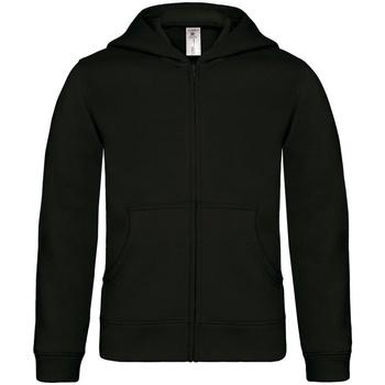 Kleidung Kinder Sweatshirts B And C B421B Schwarz
