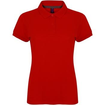 Kleidung Damen Polohemden Henbury HB102 Klassik Rot