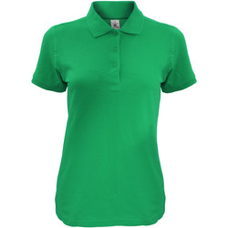 Kleidung Damen Polohemden B And C Safran Kellygrün