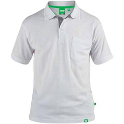 Kleidung Herren Polohemden Duke  Weiß
