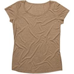 Kleidung Damen T-Shirts Stedman Stars  Hellbraun