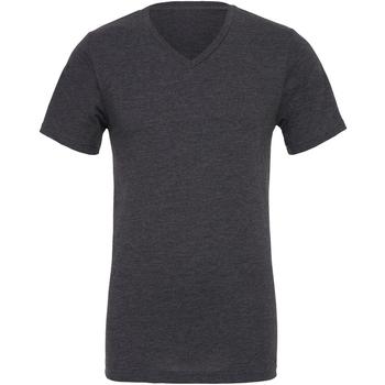 Kleidung Herren T-Shirts Bella + Canvas CA3005 Dunkelgrau meliert