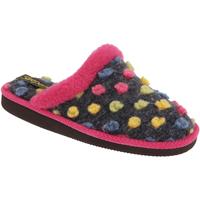 Schuhe Damen Hausschuhe Sleepers Donna Fuchsia/Bunt