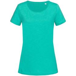Kleidung Damen T-Shirts Stedman Stars Sharon Bahama-Grün