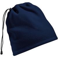 Accessoires Schal Beechfield Suprafleece Marineblau