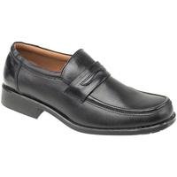 Schuhe Herren Slipper Amblers Manchester Schwarz