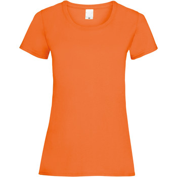 Kleidung Damen T-Shirts Universal Textiles 61372 Hellorange