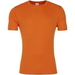 Kleidung Herren T-Shirts Awdis JC020 Orange Crush