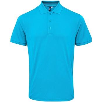 Kleidung Herren Polohemden Premier PR630 Türkis