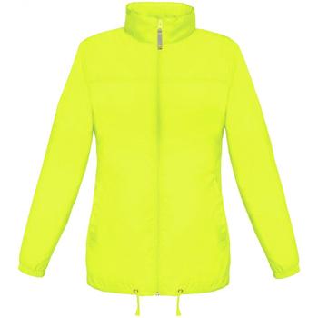 Kleidung Damen Windjacken B And C JW902 Ultra Gelb