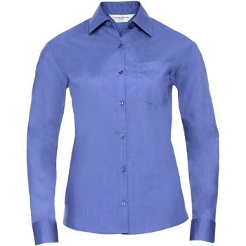 Kleidung Damen Hemden Russell 934F Blau