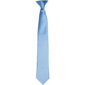 Kleidung Herren Krawatte und Accessoires Premier PR755 Mittelblau