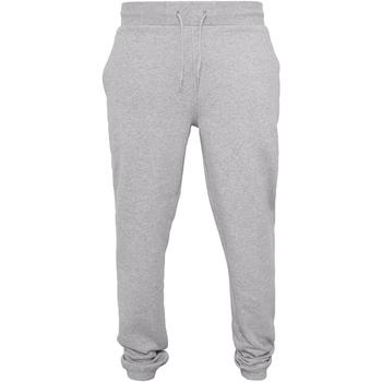 Kleidung Herren Jogginghosen Build Your Brand BY014 Grau meliert