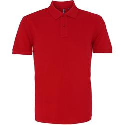 Kleidung Herren Polohemden Asquith & Fox AQ010 Kardinalsrot