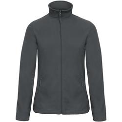 Kleidung Damen Fleecepullover B And C FWI51 Dunkelgrau