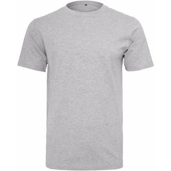 Kleidung Herren T-Shirts Build Your Brand Round Neck Grau meliert