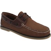 Schuhe Herren Bootsschuhe Dek  Braun Nubuck/Leder