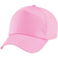 Accessoires Kinder Schirmmütze Beechfield BC10B Pink