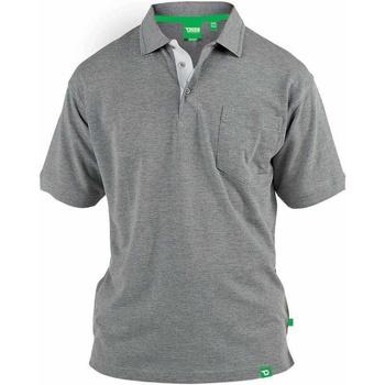 Kleidung Herren Polohemden Duke  Grau Meliert