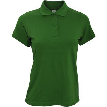 Kleidung Damen Polohemden B And C PW455 Flaschengrün