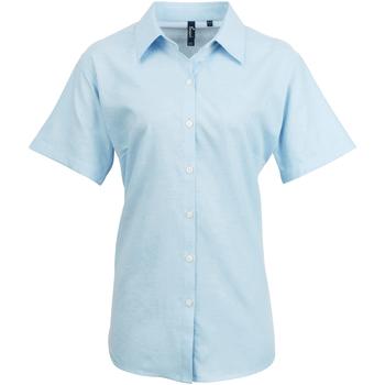 Kleidung Damen Hemden Premier PR336 Hellblau