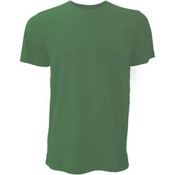 Kleidung Herren T-Shirts Bella + Canvas CA3001 Tannengrün meliert