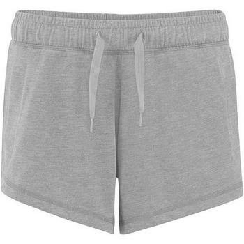 Kleidung Damen Shorts / Bermudas Comfy Co CC055 Grau meliert