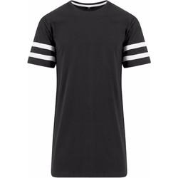 Kleidung Herren T-Shirts Build Your Brand BY032 Schwarz/Weiß