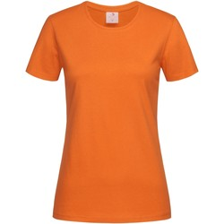 Kleidung Damen T-Shirts Stedman  Orange