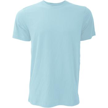 Kleidung Herren T-Shirts Bella + Canvas CA3001 Eisblau meliert