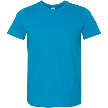 Kleidung Herren T-Shirts Gildan Soft-Style Saphir