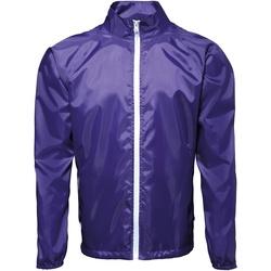 Kleidung Herren Windjacken 2786 TS011 Violett/Weiß