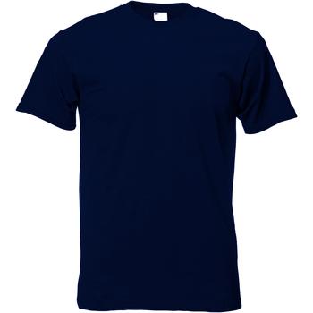Kleidung Herren T-Shirts Universal Textiles 61082 Mitternacht Blau