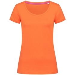 Kleidung Damen T-Shirts Stedman Stars  Kürbis