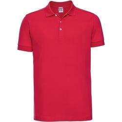 Kleidung Herren Polohemden Russell 566M Rot